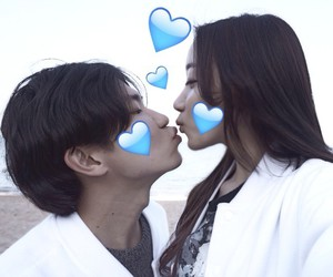 asian, ulzzang, and asian couple image