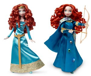 brave, disney, and doll image