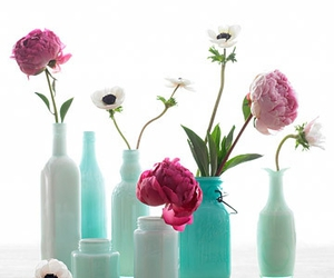 flowers and vase image