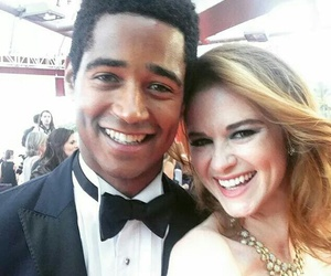 grey's anatomy and alfred enoch image