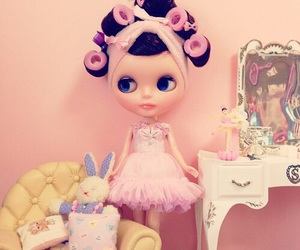doll, girly, and cute image