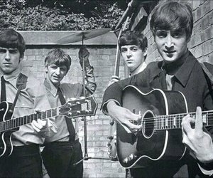 the beatles, john lennon, and Paul McCartney image