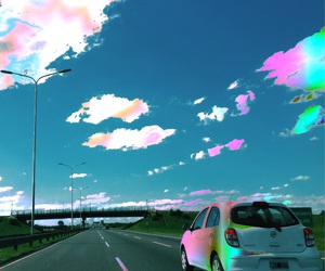acid, car, and highway image