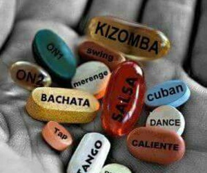 bachata, dance, and pills image