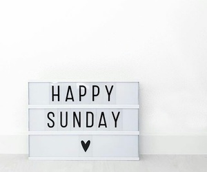 Sunday and happy sunday image