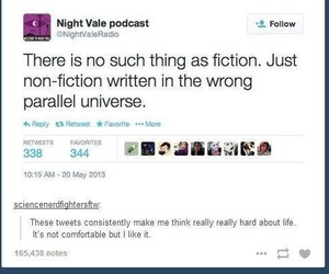 welcome to night vale, wtnv, and 😦 image