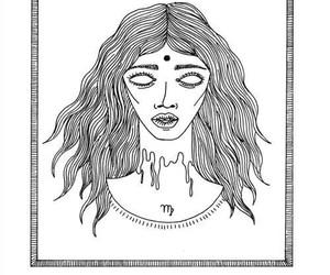 virgo, horoscope, and zodiac image
