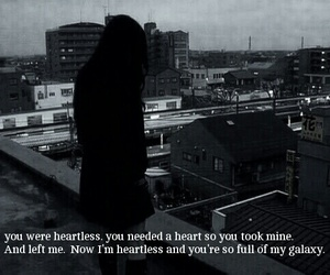 heartbreak, quotes, and sadness image