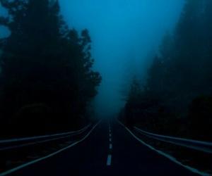 grunge, dark, and road image
