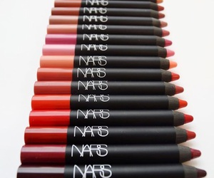 fashion, nars, and lipstick image