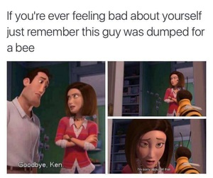 funny, bee, and bee movie image