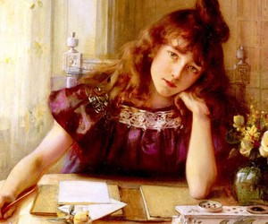 art, painting, and albert lynch image
