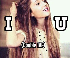 u, love, and ariana image