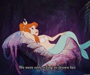 mermaid, peter pan, and disney image