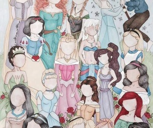 disney, princess, and elsa image