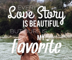 beautiful, girl, and love story image