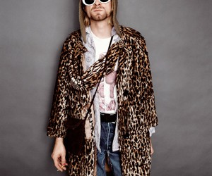 kurt cobain, nirvana, and fashion image