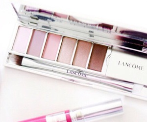 makeup, lancome, and beauty image