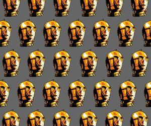background, C-3PO, and gray image