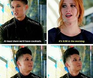 the mortal instruments, magnus bane, and clary fray image