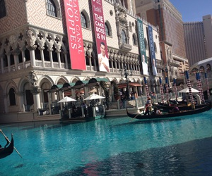 gondolas, Las Vegas, and the venetian image