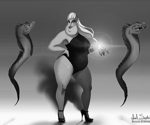 ursula, disney, and beyoncé image
