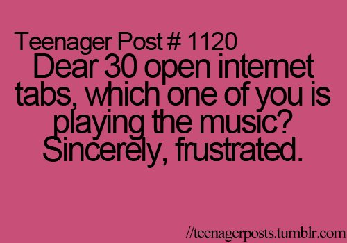 funny, haha, music, quote, teenage posts - inspiring picture ...