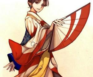 kagura, anime, and inuyasha image