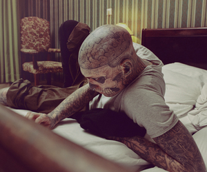 rick genest and rico the zombie image