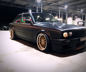 american, black, and bmw image