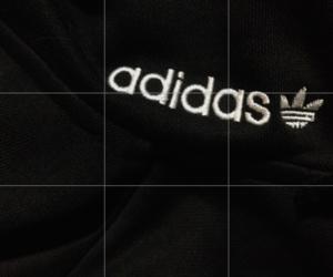 adidas, fashion, and dark pale image