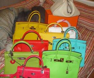 bag, chains, and fashion image