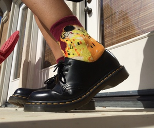 socks, fashion, and shoes image