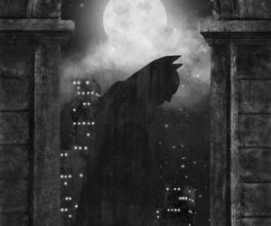 batman, night, and black image