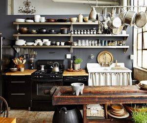 beautiful, kitchen, and spacious image