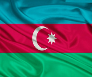azerbaijan, beautiful, and flag image