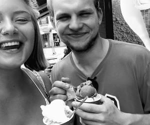 boy, ice cream, and boyfriend image