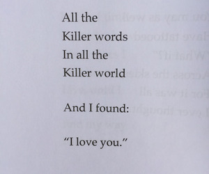 couple, poetry, and love image