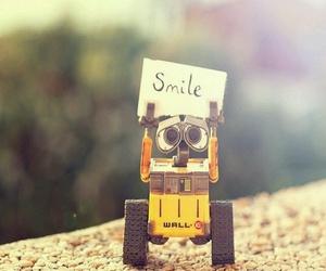 smile, wall-e, and disney image
