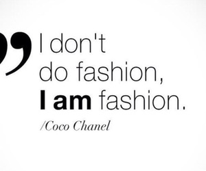 fashion, coco chanel, and quote image