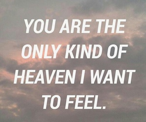 quote, love, and heaven image