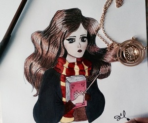 art, drawing, and harrypotter image