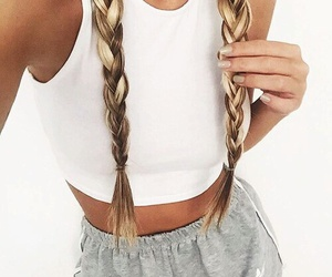 chic, hairstyle, and cool image