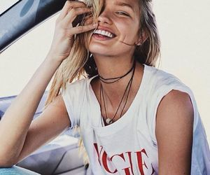romee strijd, model, and vogue image