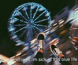 blue, cry, and grunge image
