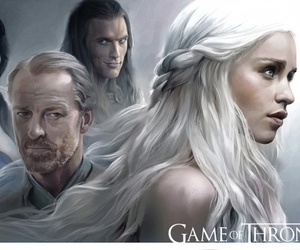 art, drawing, and we love game of thrones image