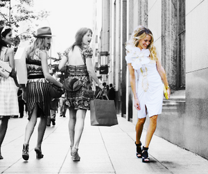 sex and the city, Carrie Bradshaw, and courage image
