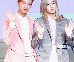 Seventeen, jihan, and joshua hong image