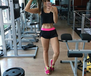 closet, girl, and look fitness image