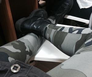 army, black, and boots image